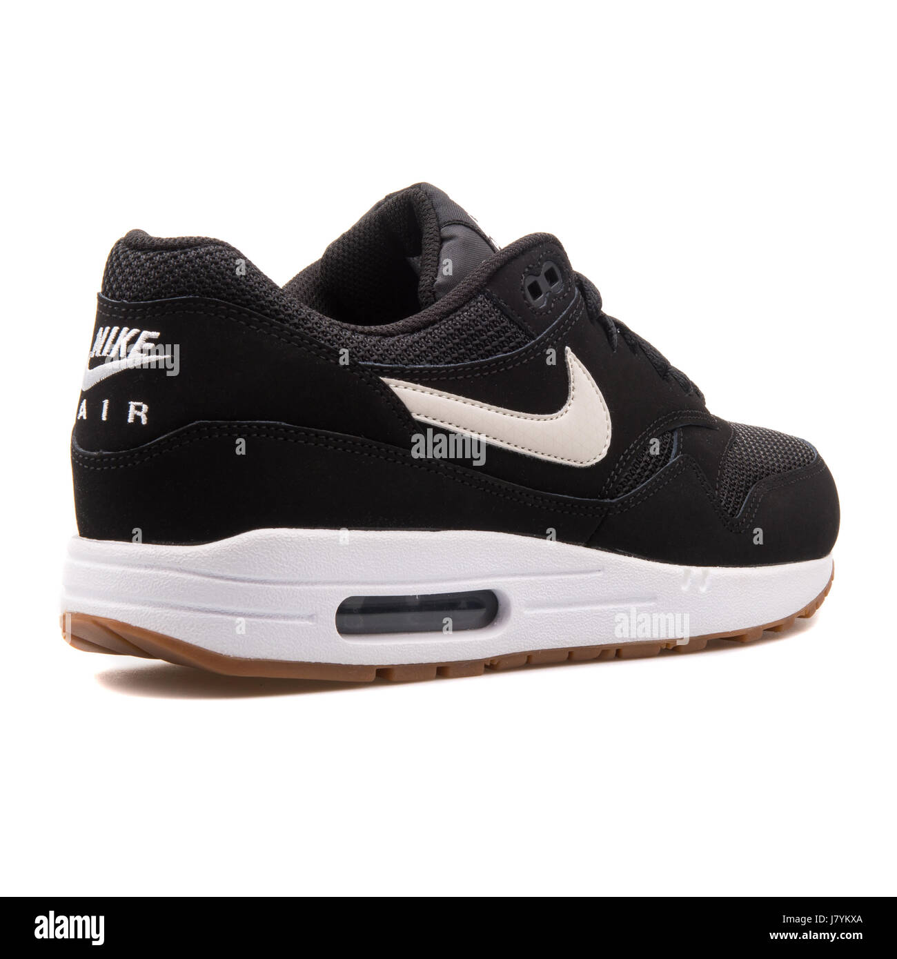 485814c7 Nike Air Max 1 Essential Men's Black Sports Sneakers - 537383-026 ...