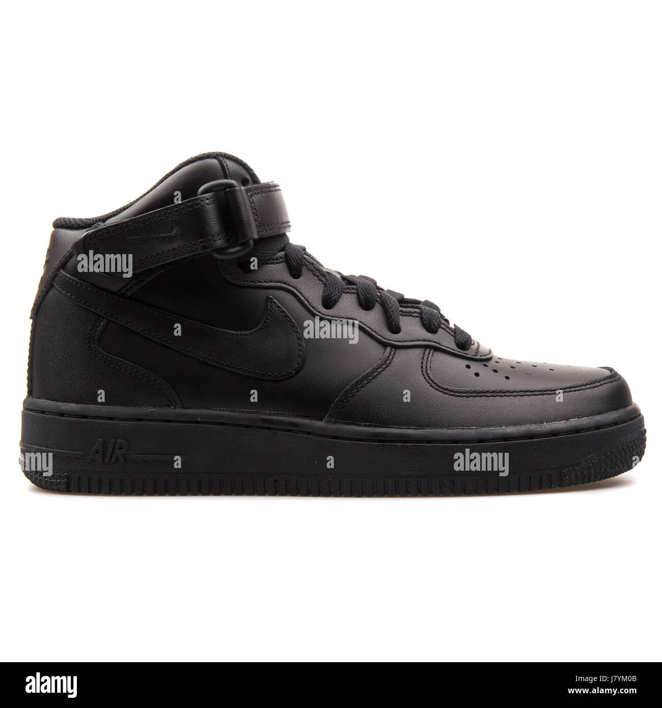 Nike WMNS Air Force 1 Mid  07 LE Black Women s Sports Sneakers - 366731-001 45973b2bb