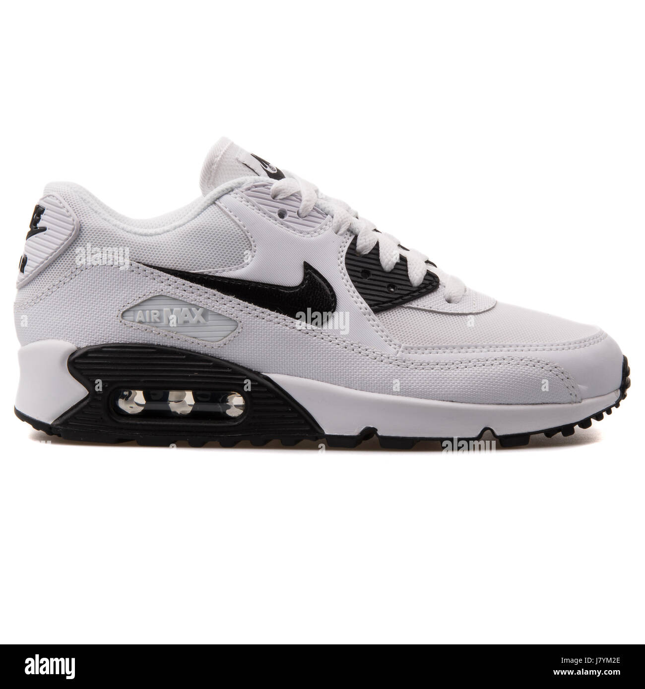 NIKE 616730 110 Women AIR Max 90 Essential WhiteBlack