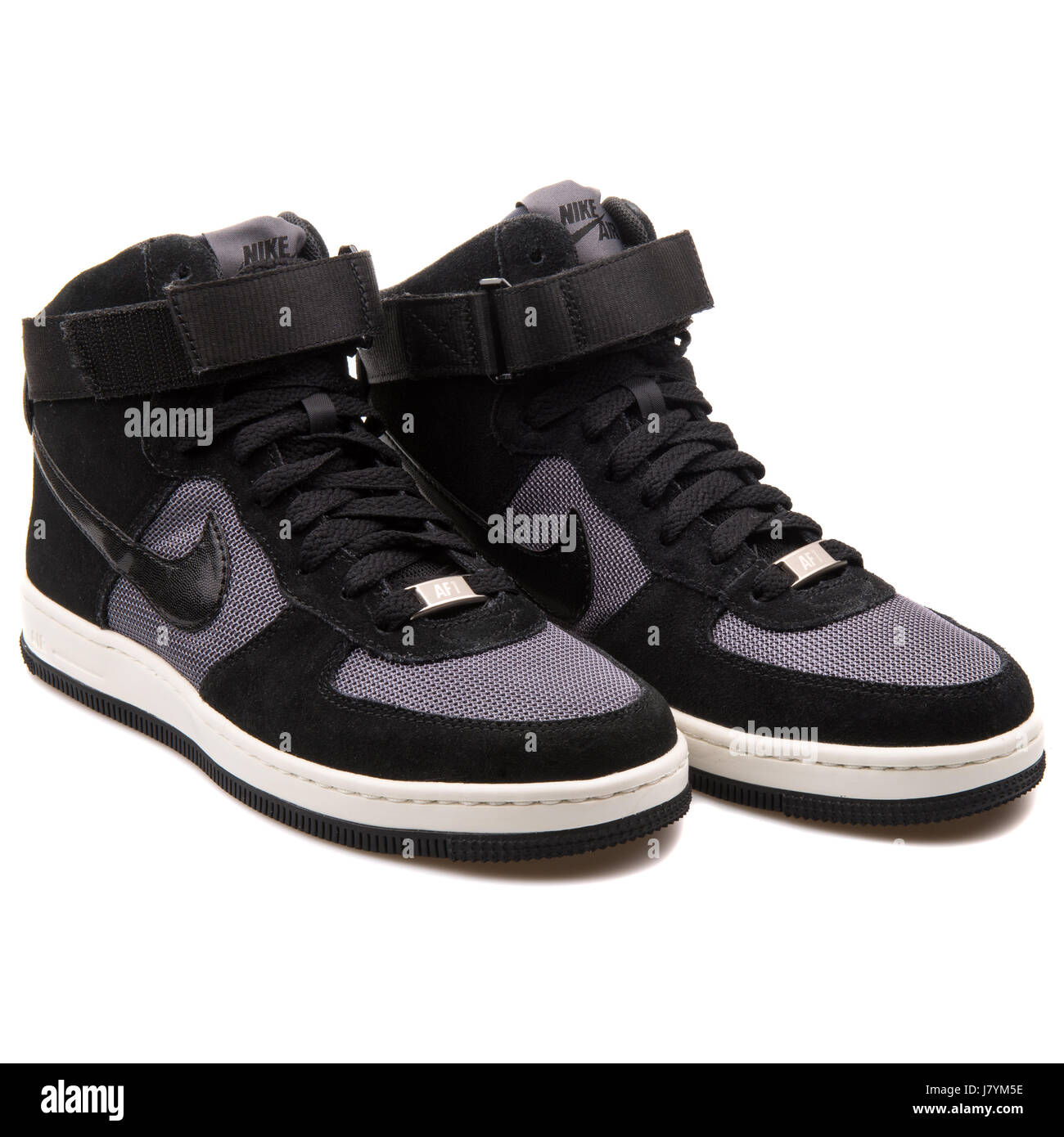 Nike W AF1 Ultra Force Mid Women s High Black Sneakers - 654851-009 - Stock c23b94382c