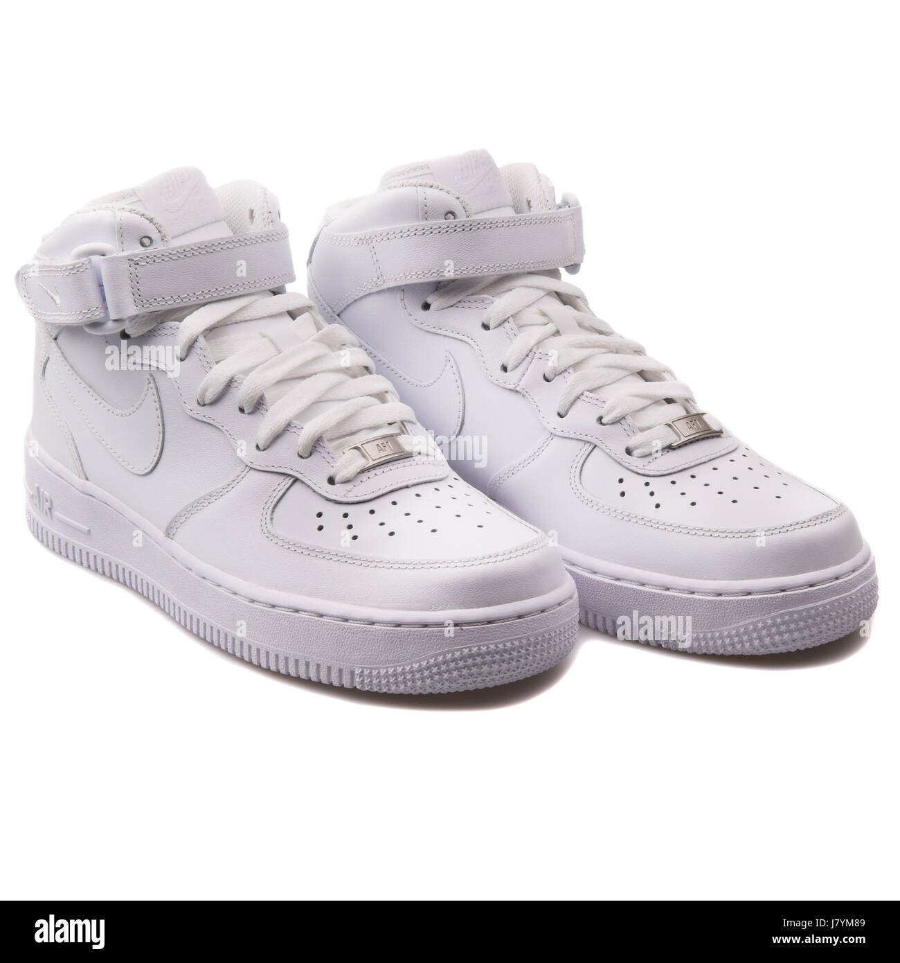 official photos 58763 baf3a Nike WMNS Air Force 1 Mid  07 LE White Women s Sports Sneakers - 366731-