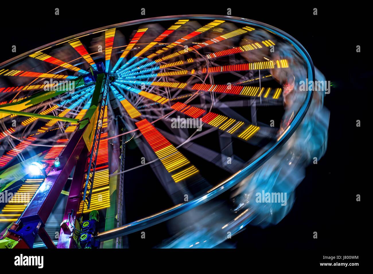 Midway Rides Ferris Wheel Stock Photos Amp Midway Rides
