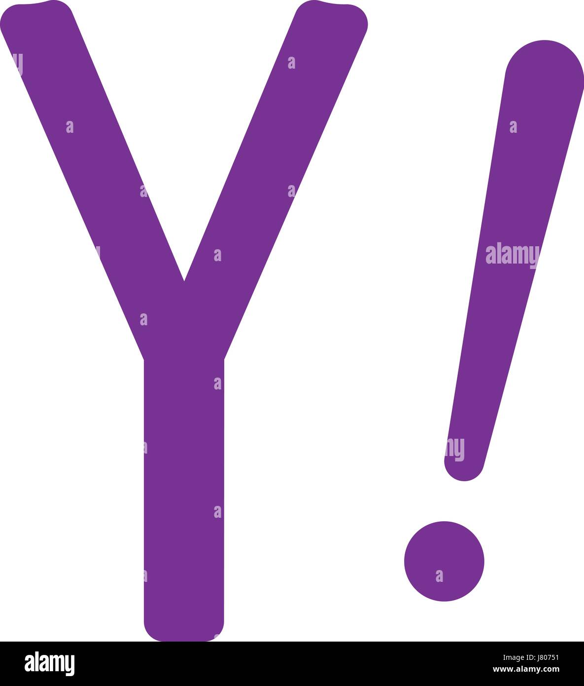 Yahoo Search Engine Stock Vector Images Alamy