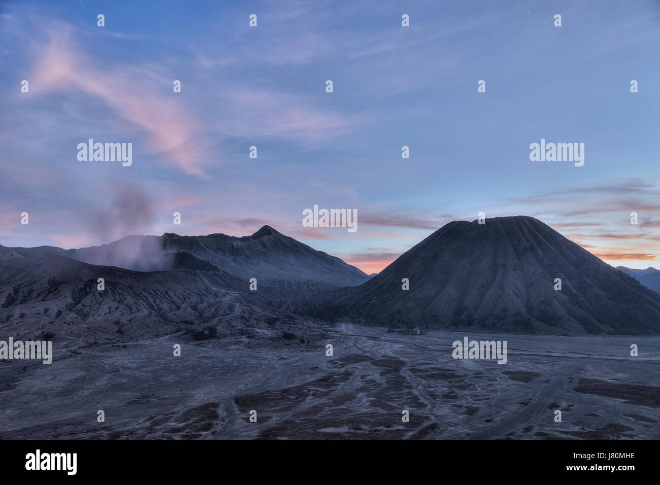 Mount Bromo, Java, Indonesia, Asia - Stock Image