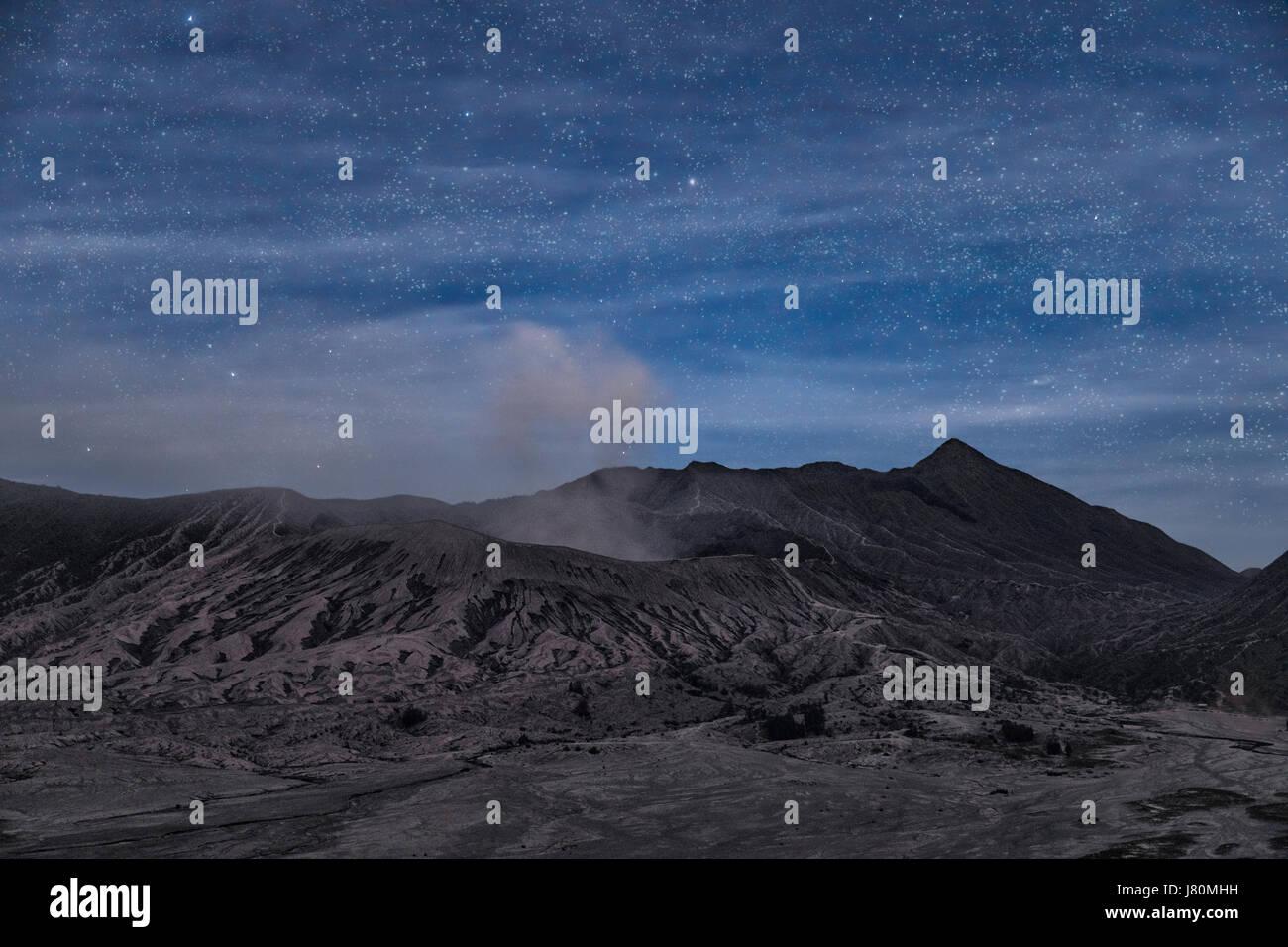 Mount Bromo, Java, Indonesia, Asia - Stock Image
