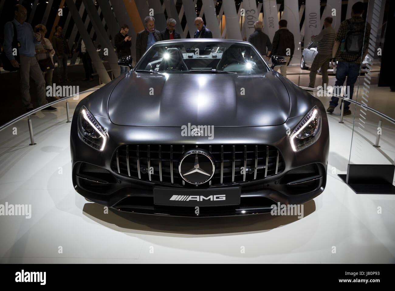 APR 6, 2017: New 2017 Mercedes Benz AMG