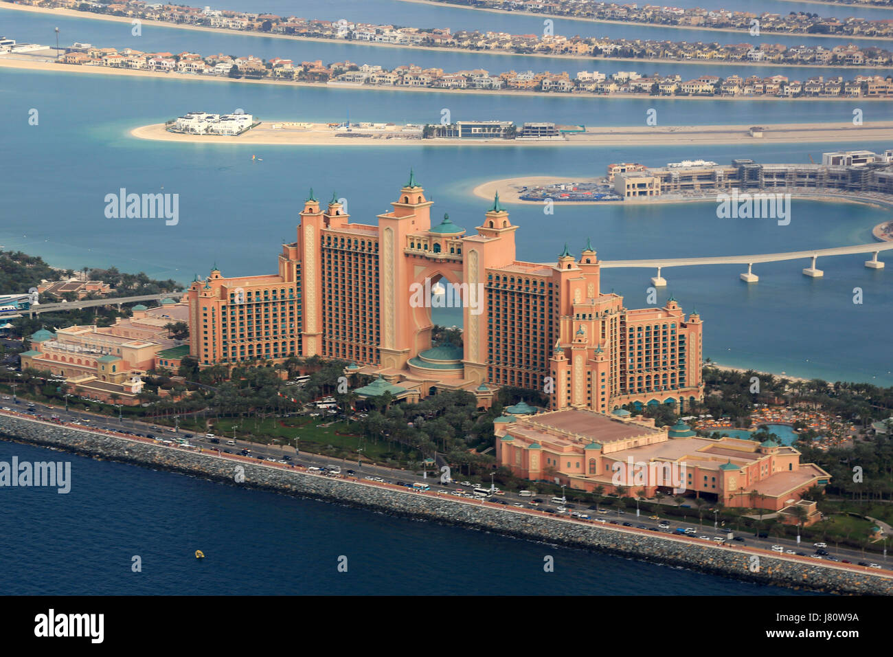 Atlantis Palm Hotel Dubai Stock Photos Atlantis Palm Hotel Dubai