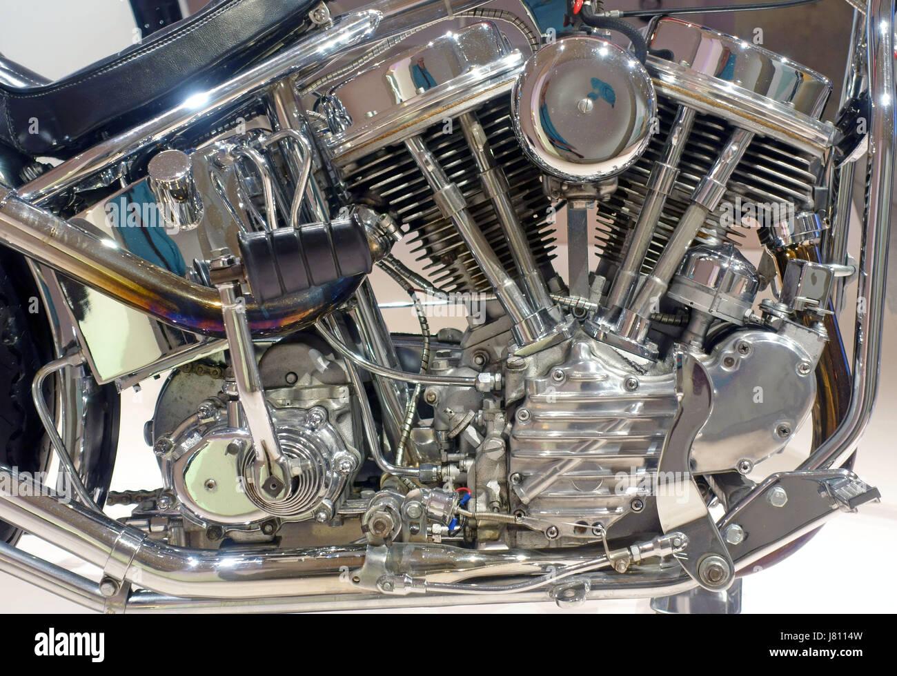Vintage Harley Motorcycle Parts