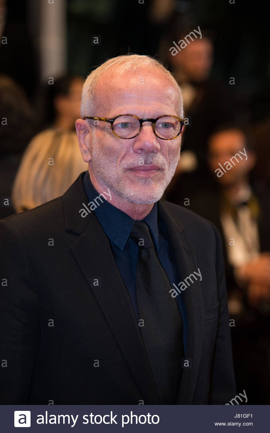 Pascal Greggory Poses During A Red Carpet Event For The Film In Fade At Cannes Festival France On May 26 2017