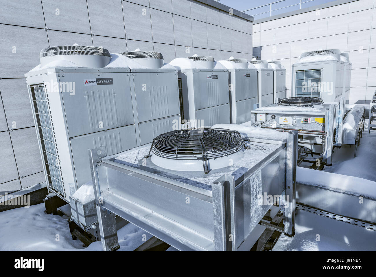 Installation of air conditioning in Moscow 69