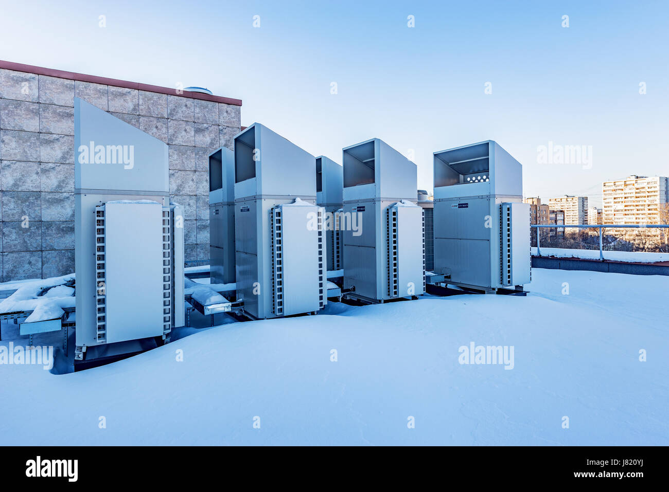 Installation of air conditioning in Moscow 72