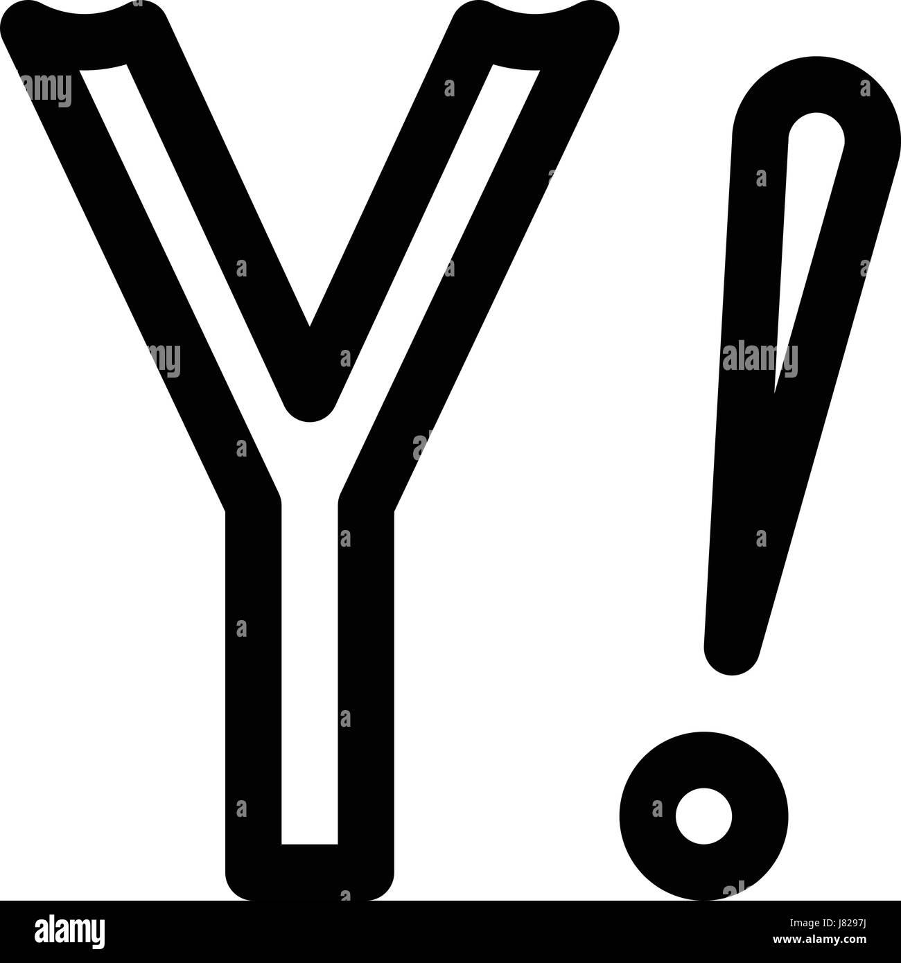 Yahoo Stock Vector Art Illustration Vector Image 142651366 Alamy