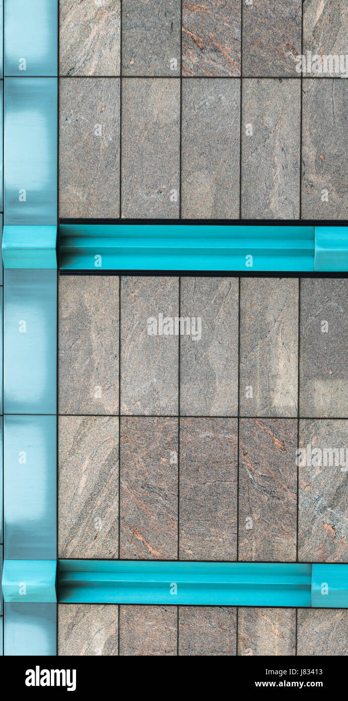 Modern Building Wall - Stock Image
