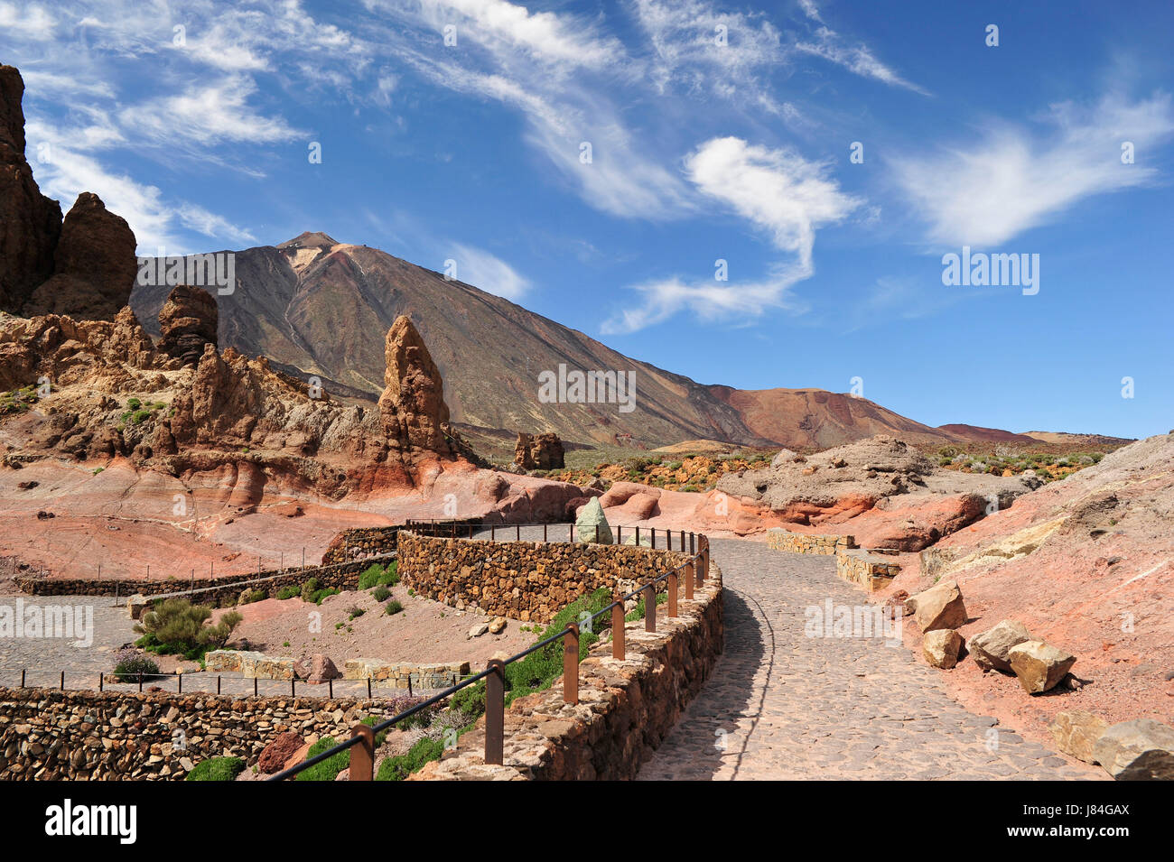 look for teide - Stock Image