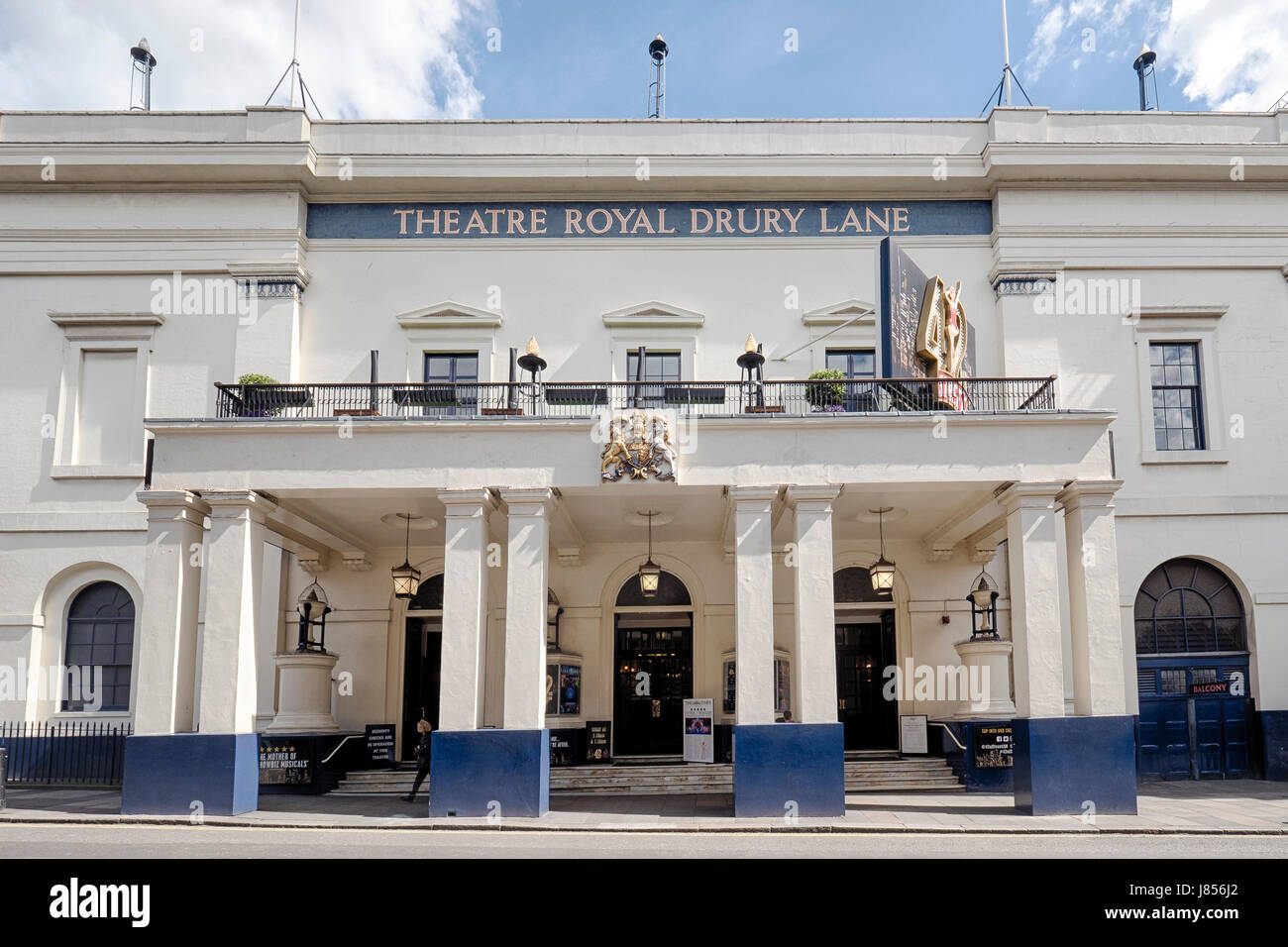 Theatre Royal Drury Lane in Covent Garden London - Stock Image