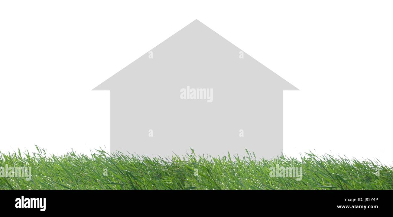 house in the countryside - Stock Image