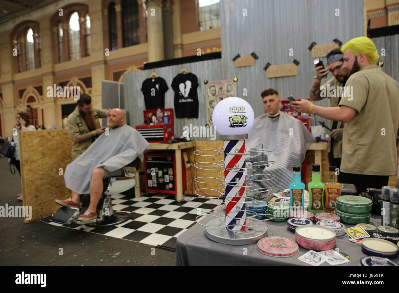Alexandra Palace, North London, UK. 29 June 2017. The Great British Tattoo Show this bank holiday weekend with traditional, - Stock Image
