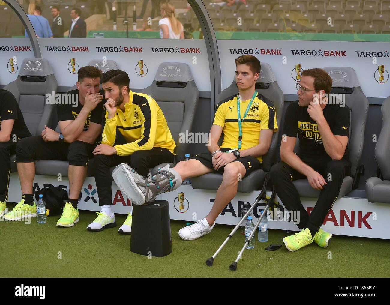 27.05.2017, Fussball DFB-Pokal 2016/17, Finale im Olympiastadion in Berlin, Eintracht Frankfurt - Borussia Dortmund, Stock Photo