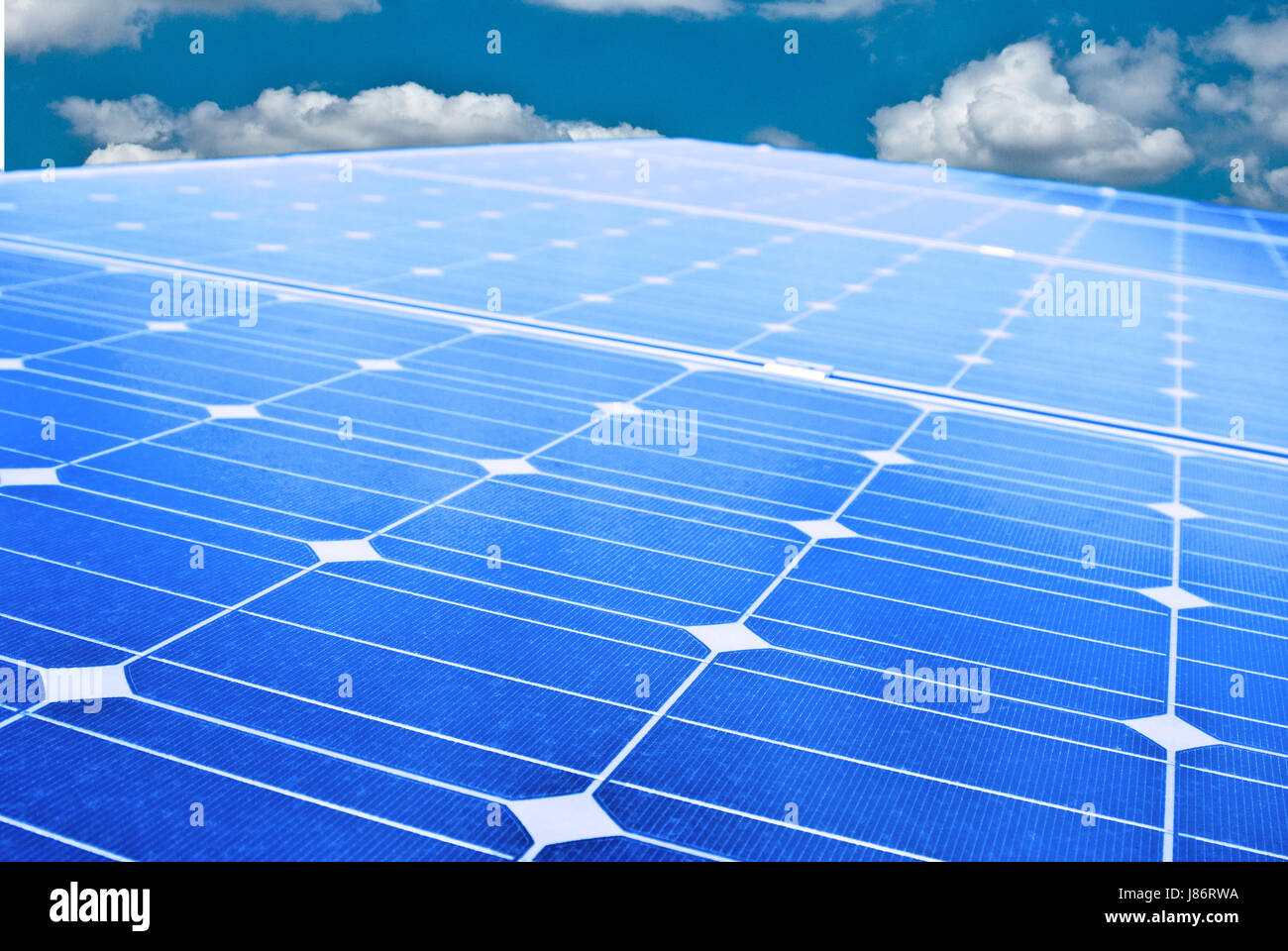energy power electricity electric power electric solar renewable panel width of - Stock Image