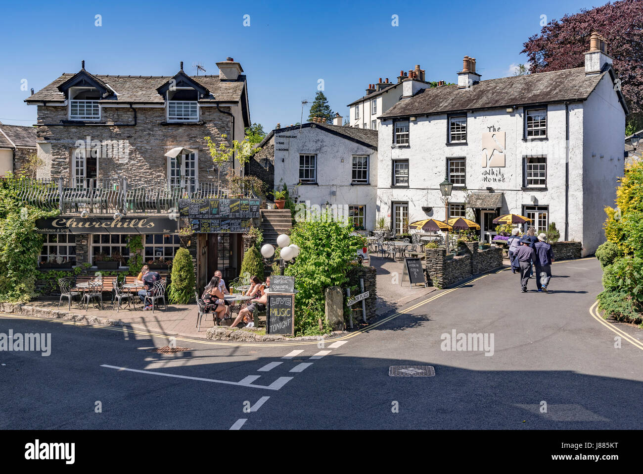 Lake district. Windermere Bowness - Stock Image