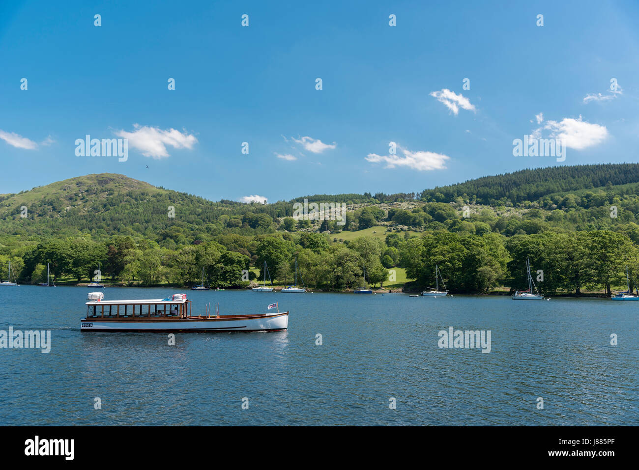 Lake district. Windermere - Stock Image