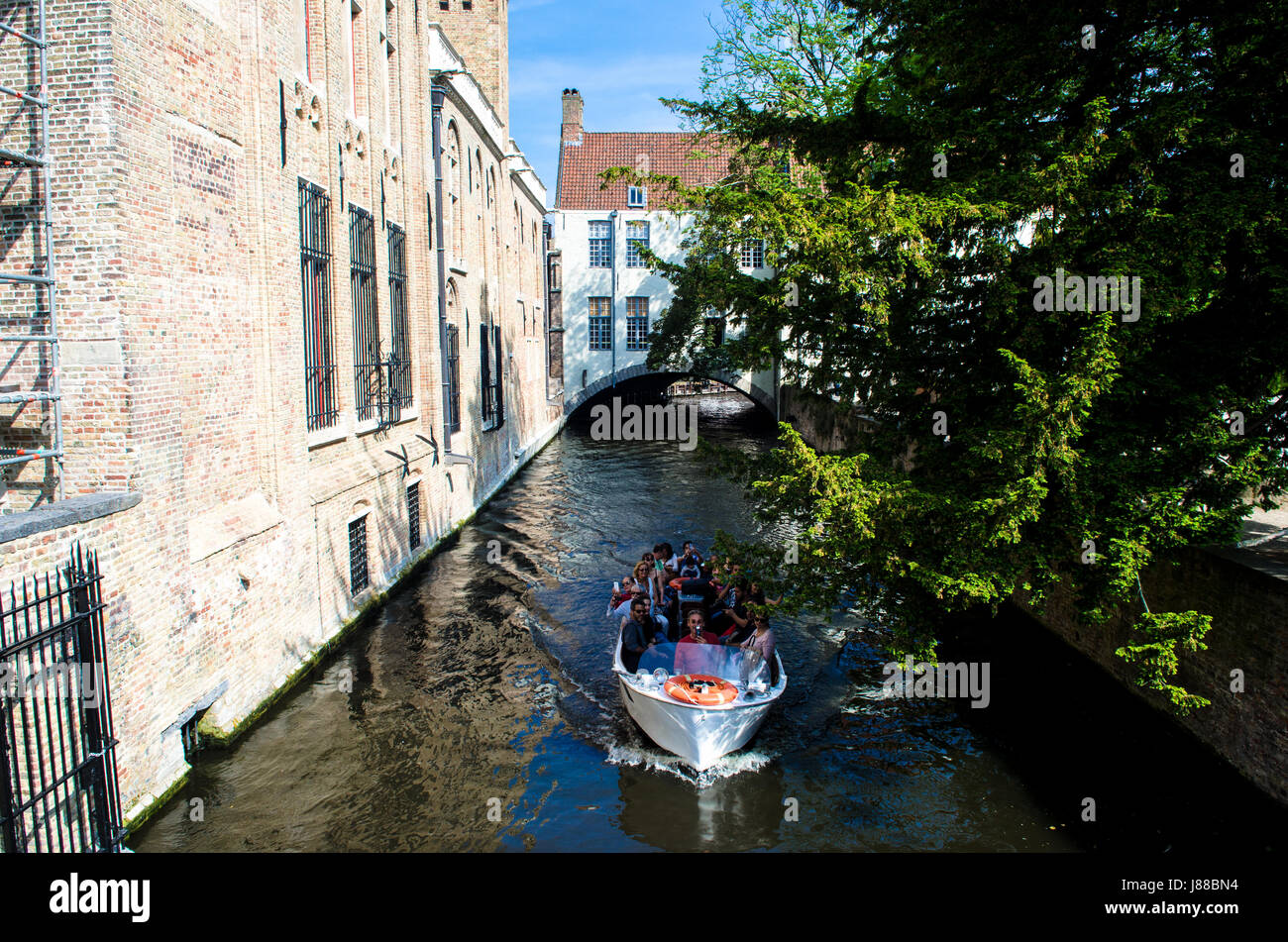 Bruges West Flanders Belgium Stock Photo
