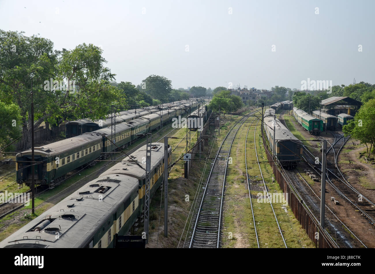 Pakistan Railway Stock Photos & Pakistan Railway Stock Images - Alamy