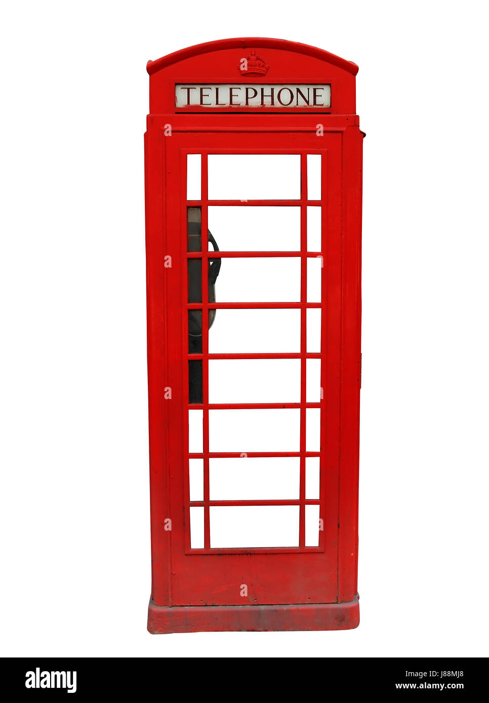 telephone, phone, england, booth, britain, red, telephone box, phonebooth, - Stock Image