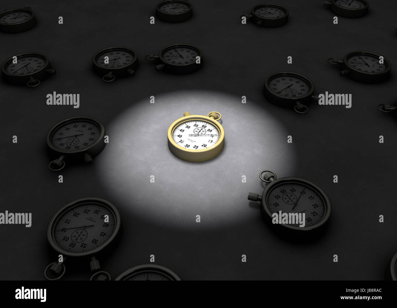 clock, date, time, time indication, group, light, model, design, project, - Stock Image