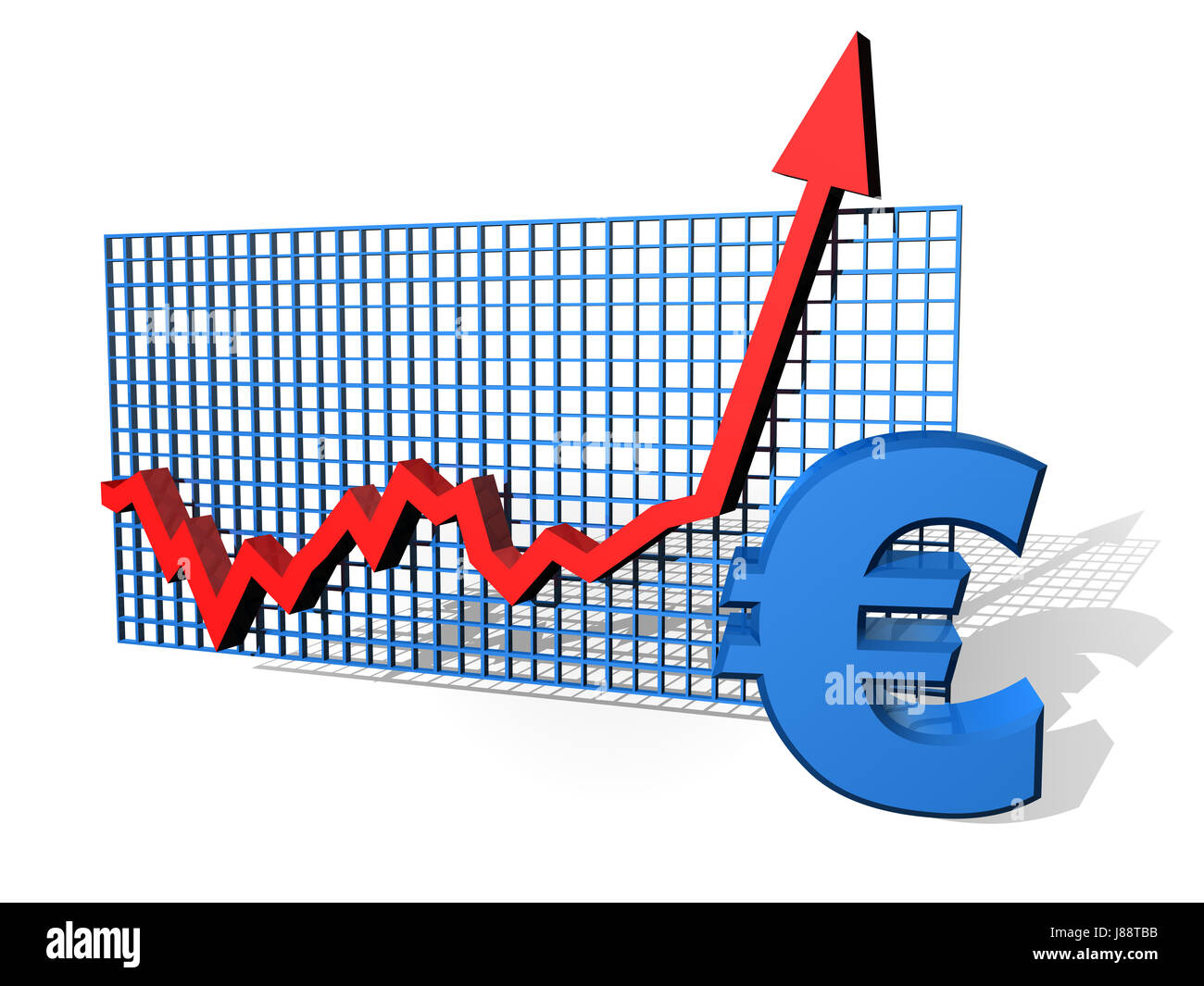 Chart Currency Euro Europe Growth Savings Graph Money Stock
