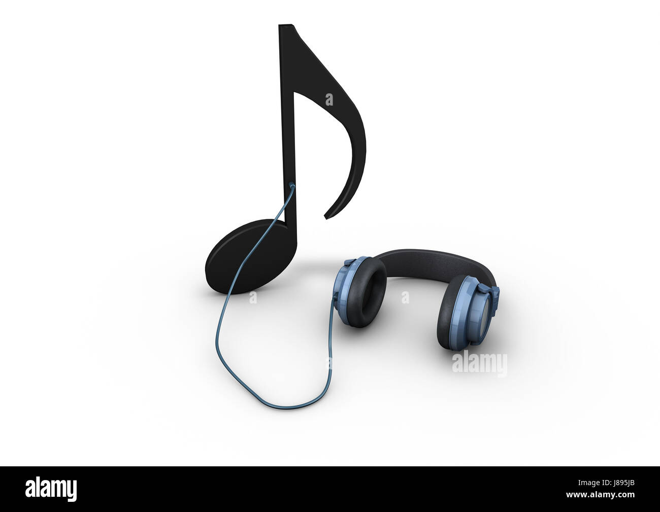 Headphones Music Notes: Music Note Stock Photos & Music Note Stock Images