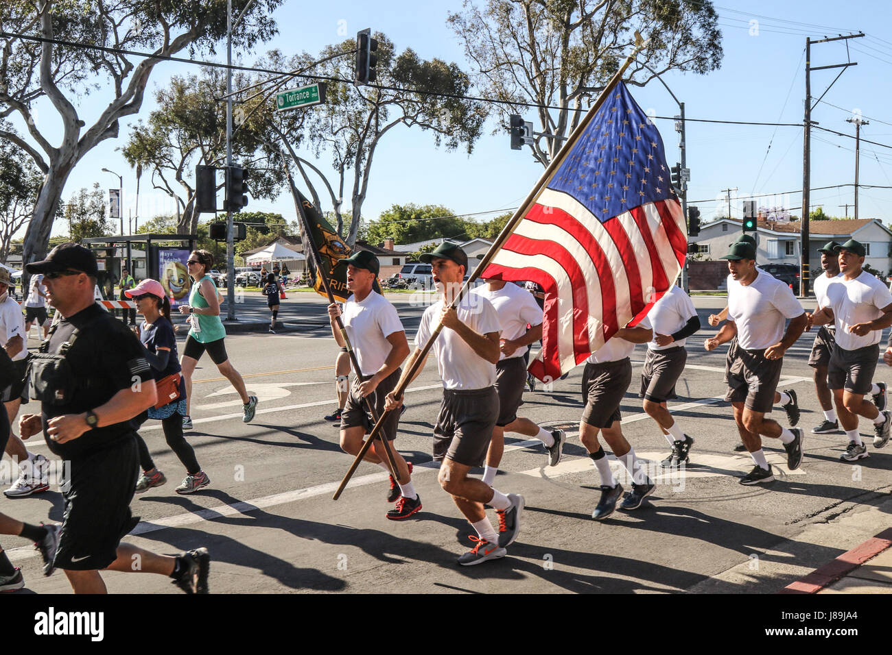 TORRANCE, Calif  – Cadets from the Torrance Police Academy