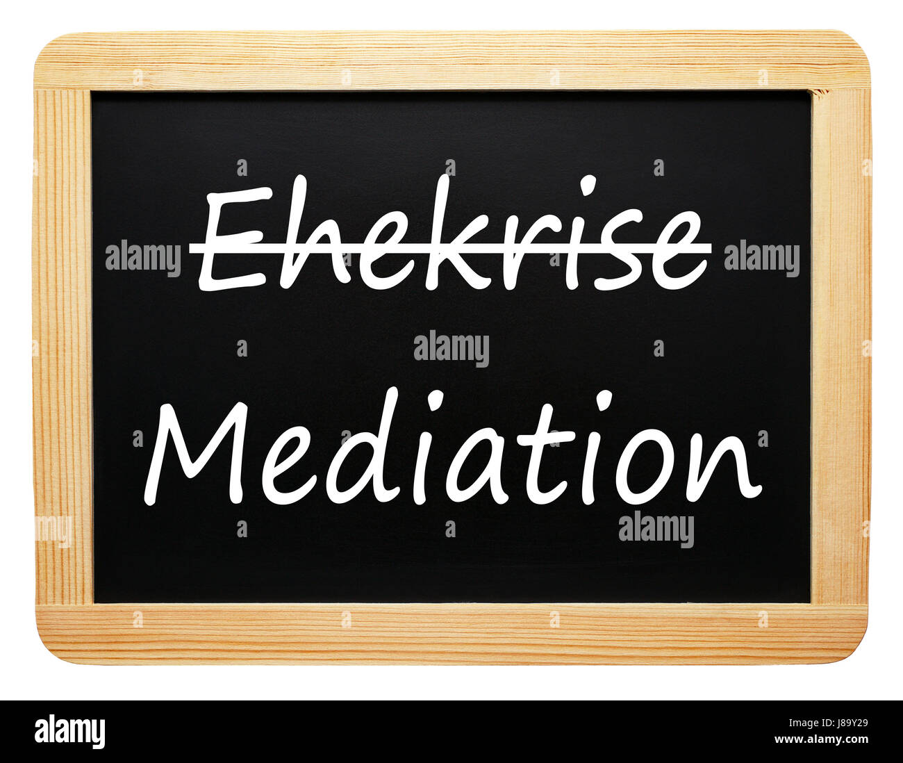 marital crisis and mediation - Stock Image