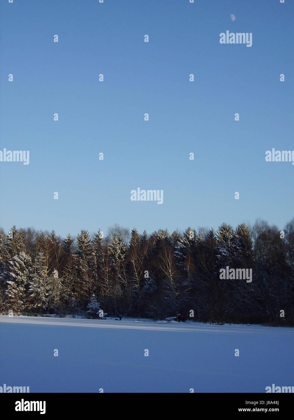 venekotensee in winter (3) Stock Photo