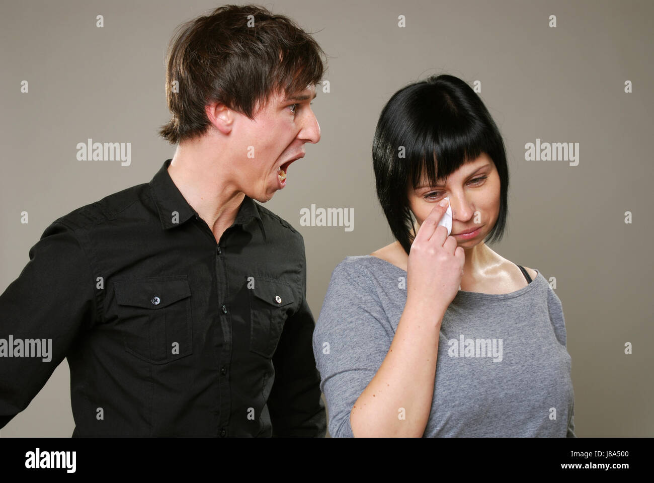conflict, argue, problem, weep, cry, crying, weeper, weeping, love, in love, Stock Photo