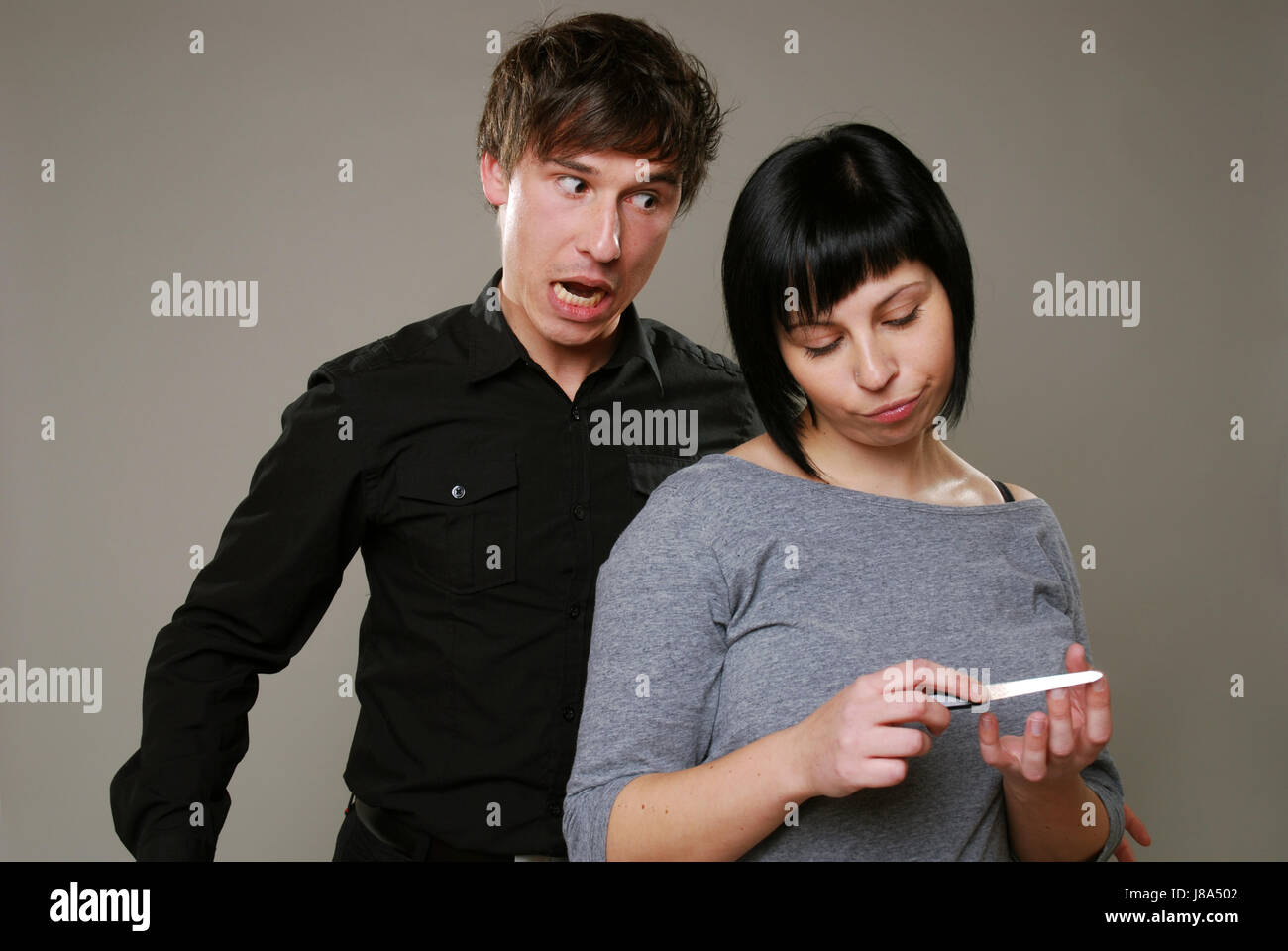 conflict, argue, boredom, bored, love, in love, fell in love, stress, couple, Stock Photo