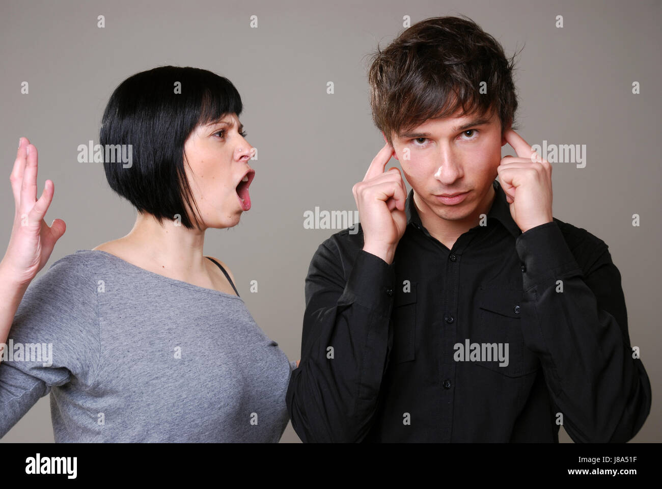 conflict, argue, problem, love, in love, fell in love, stress, couple, pair, Stock Photo