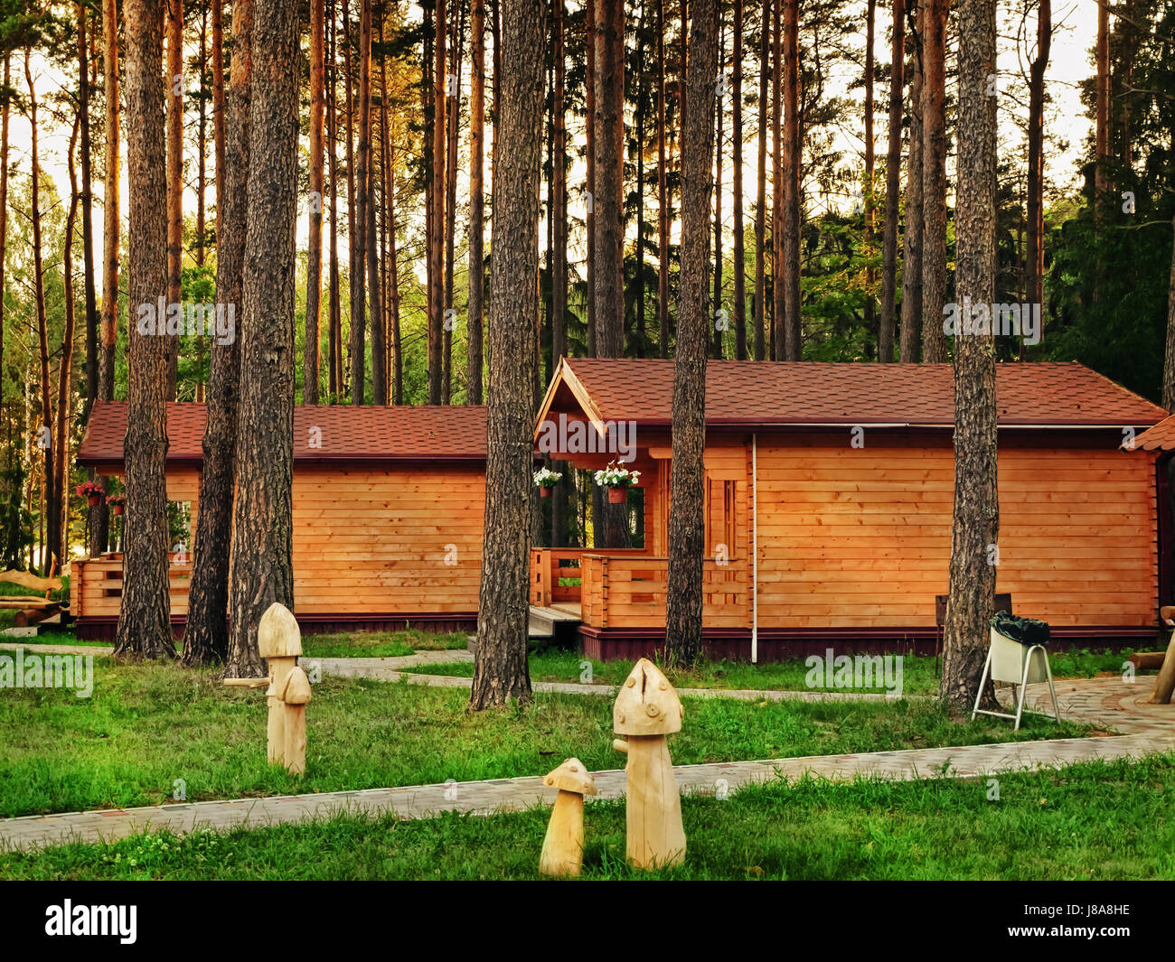 house, building, cottage, country, scenery, countryside, nature, forest, hut, - Stock Image