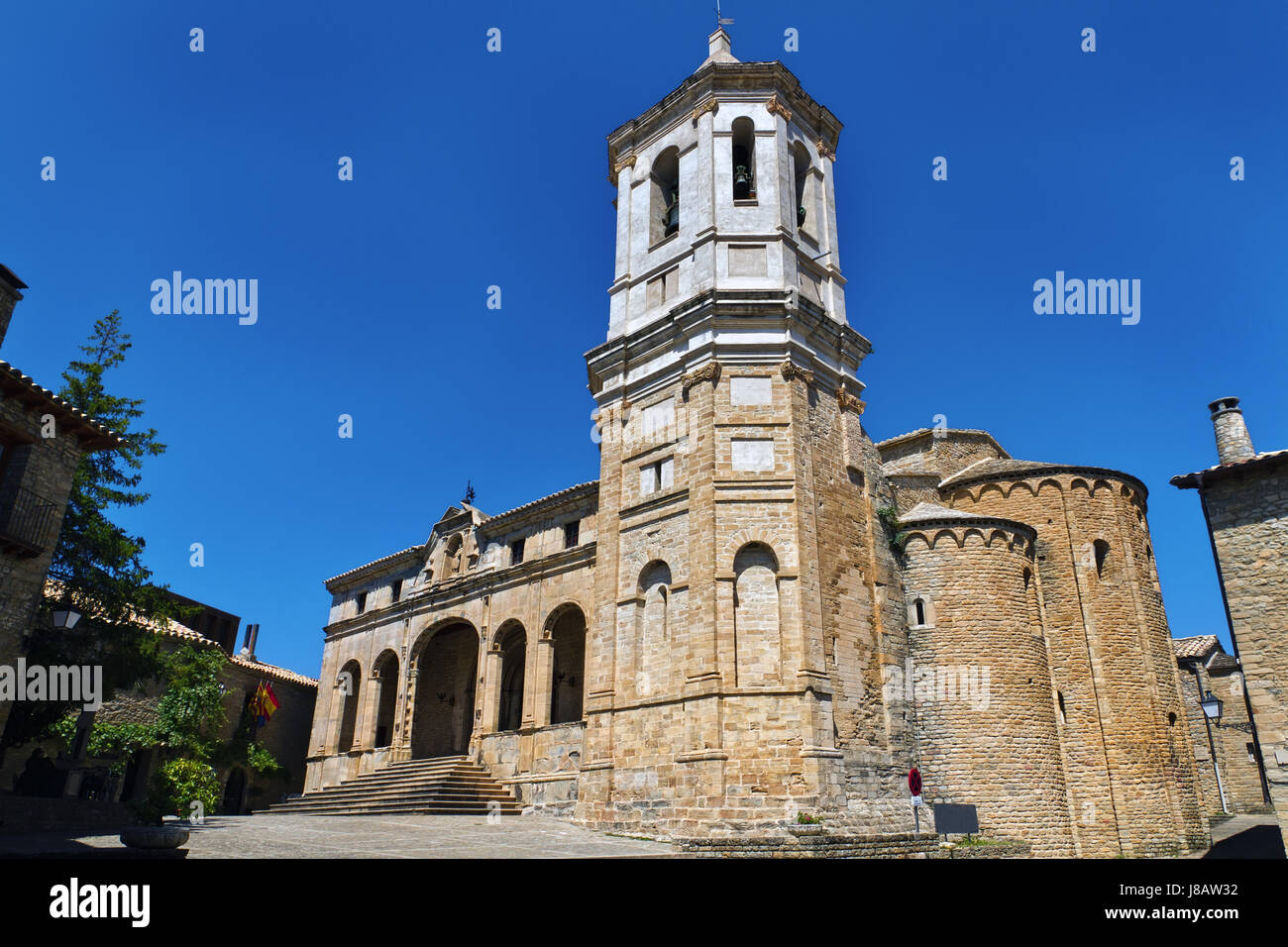 religion, church, monument, cathedral, europe, spain, style of construction, - Stock Image