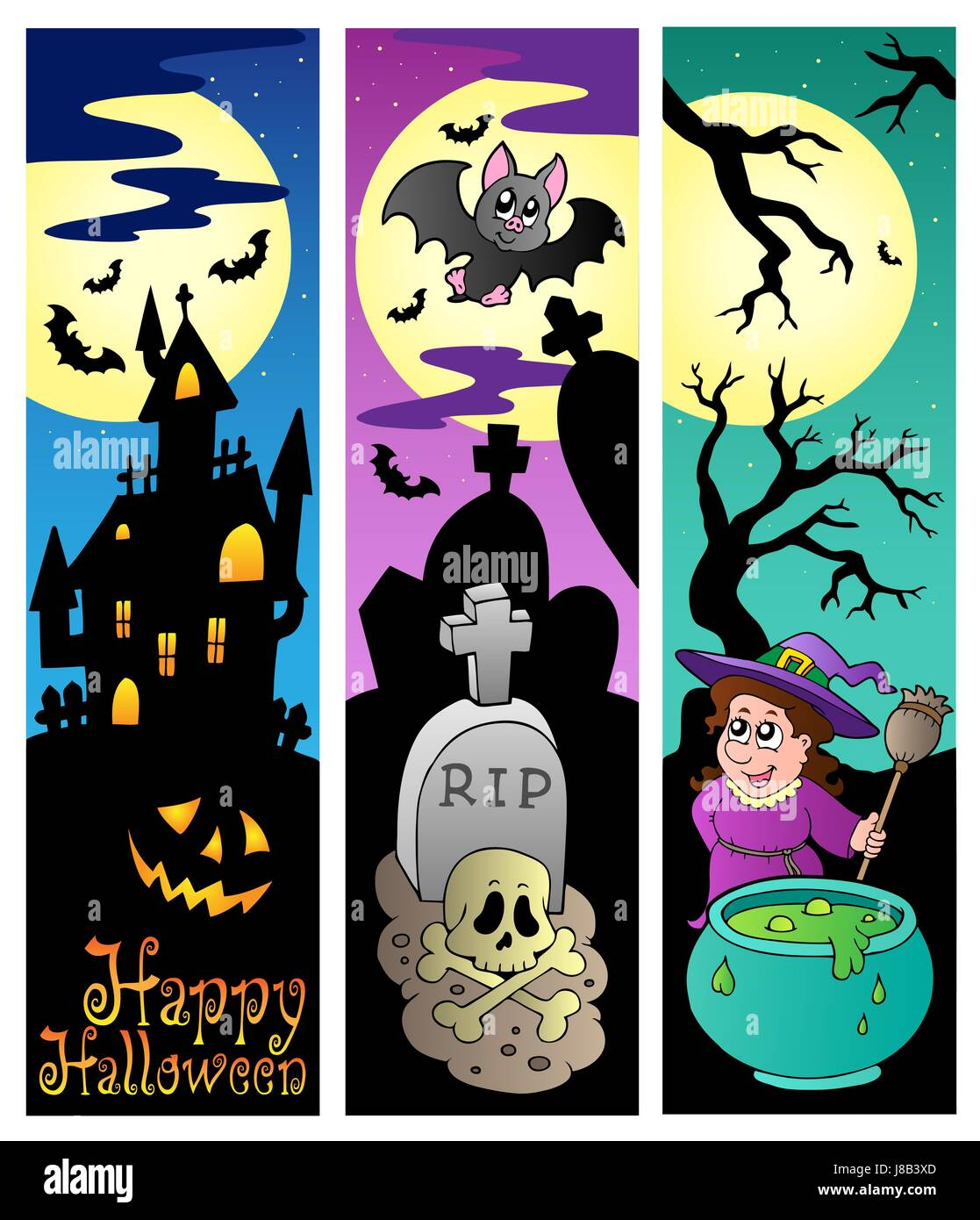 topic, halloween, banner, october, season, seasonal, fall