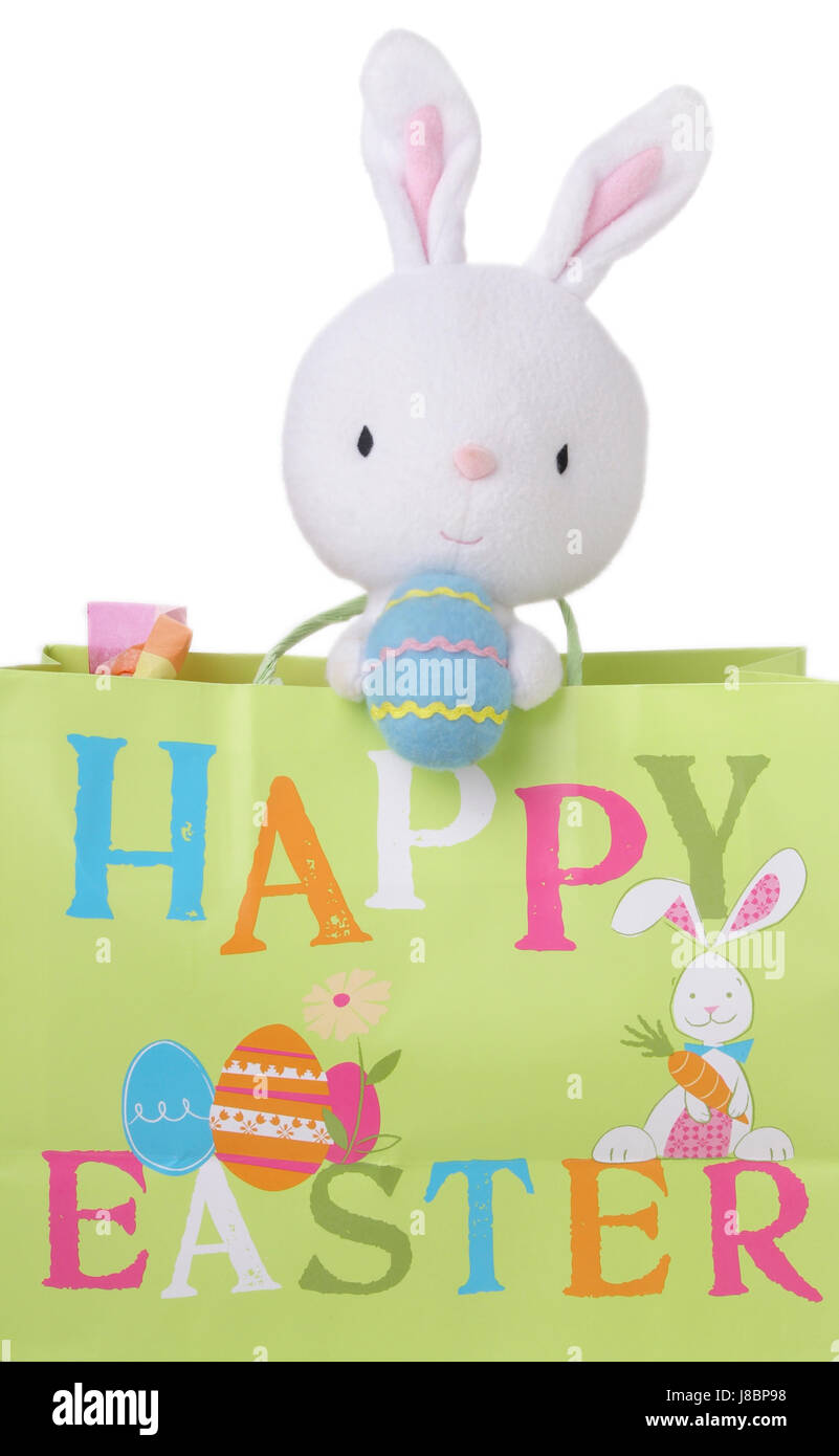 easter, bunny, bunnies, maddening, pert, coquettish, cute, holiday, blue, - Stock Image