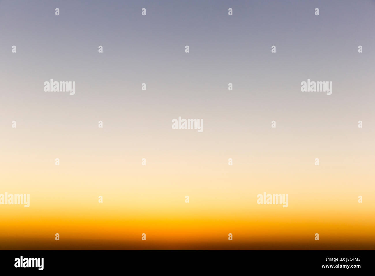 Gradient sunset image for background. - Stock Image