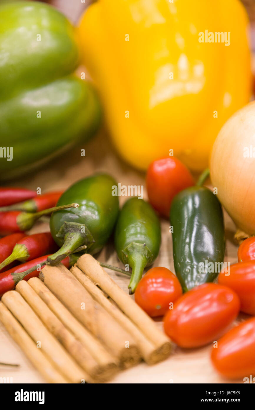 Colorful vegetables. - Stock Image