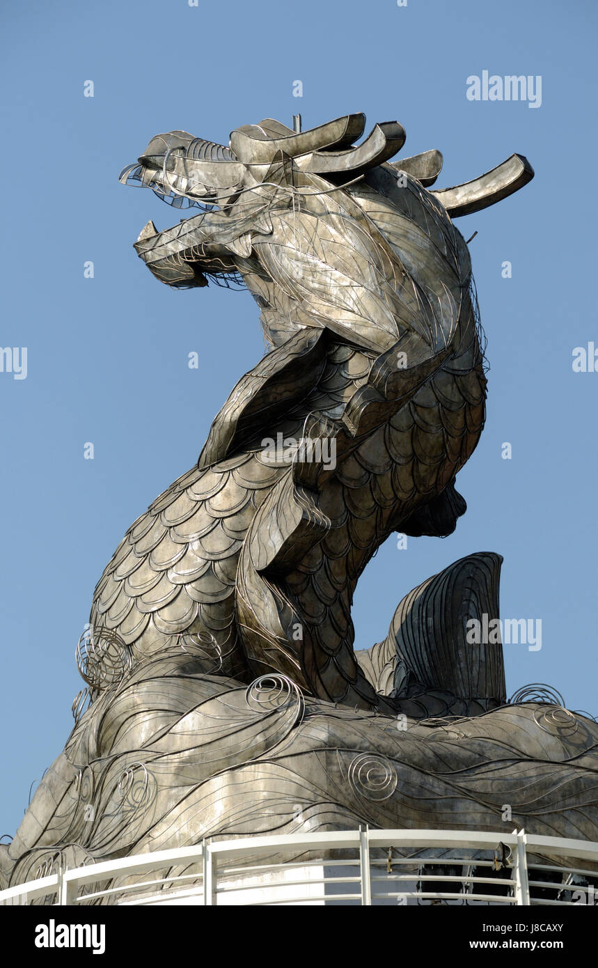 dragon sculpture in kaohsiung Stock Photo: 142872211 - Alamy