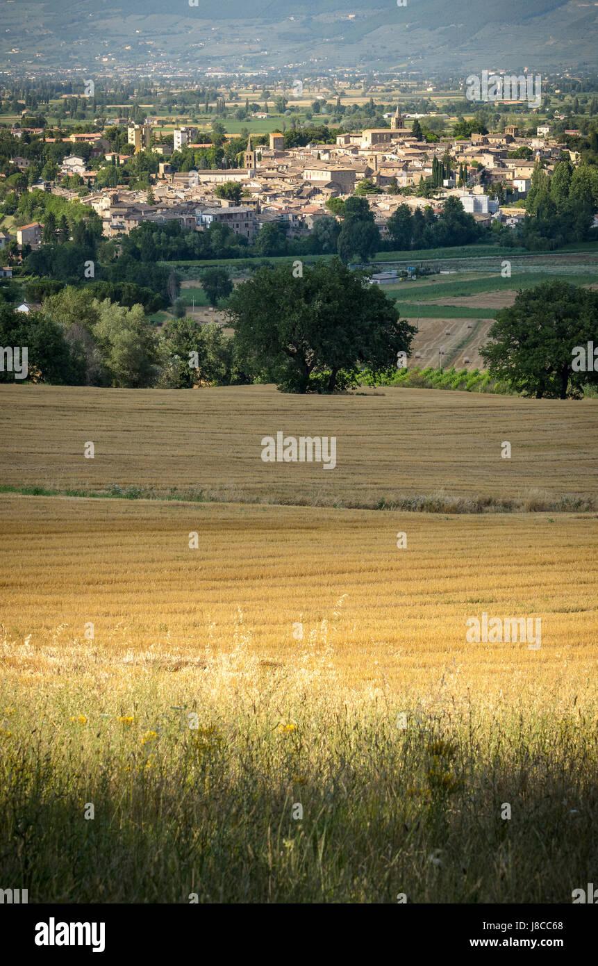 Bevagna Umbria Stock Photo