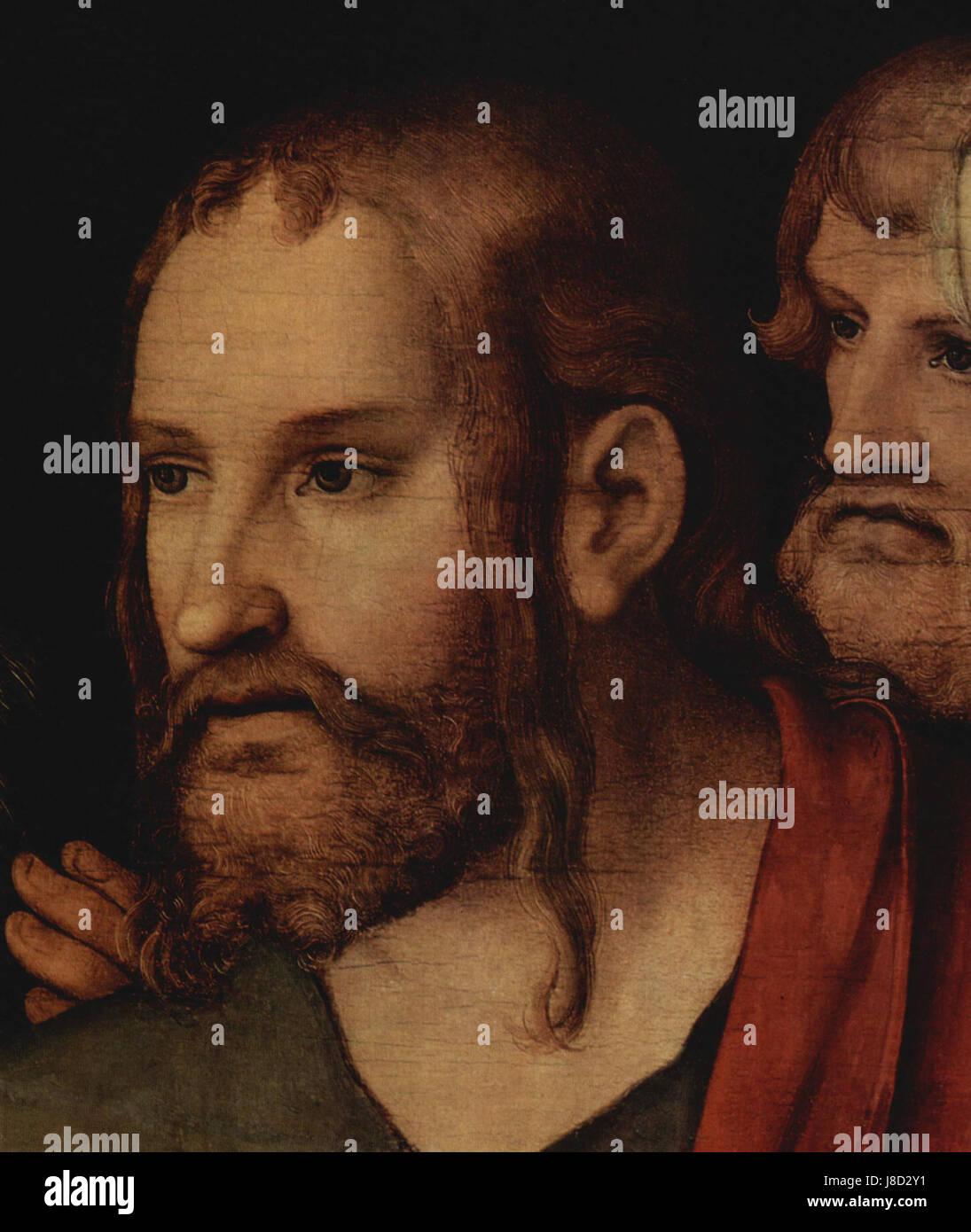 Lucas Cranach d. J. 003 - Stock Image
