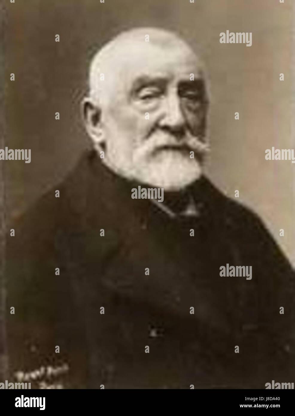 Henri Joseph Harpignies - Stock Image