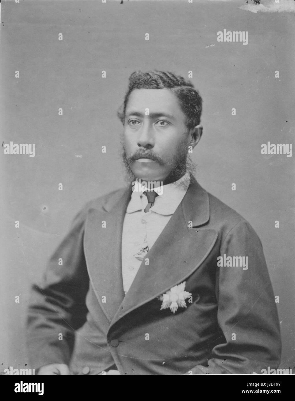 1873-1874 Photo Lunalilo King of Hawaii