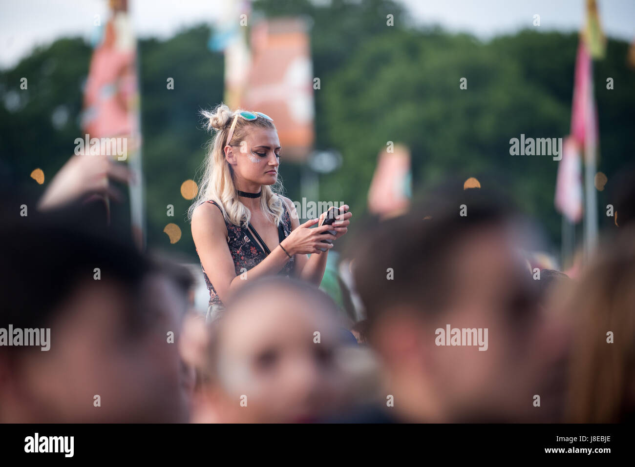 Southampton, Hampshire, United Kingdom. 28 May 2017. Common People Music Festival returns in 2017 to Southampton - Stock Image
