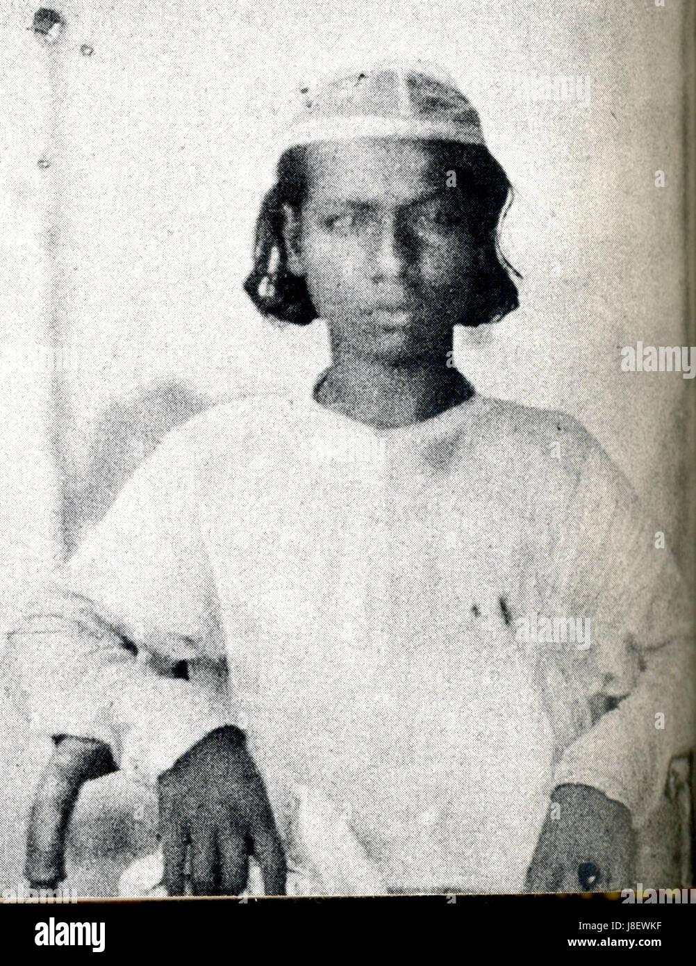 Mirza Shah Abbas, son of Bahadur Shah II Stock Photo